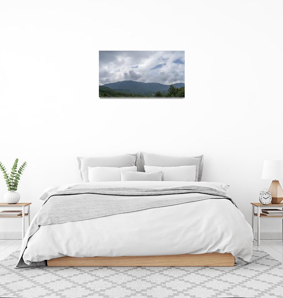 """Carpathian mountain Tarcau river Tarcau mountain""  by ovicor"
