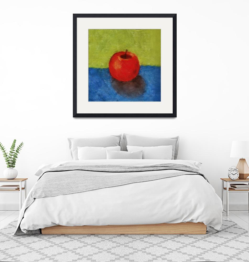 """""""Apple with Green and Blue""""  by Michelle1991"""