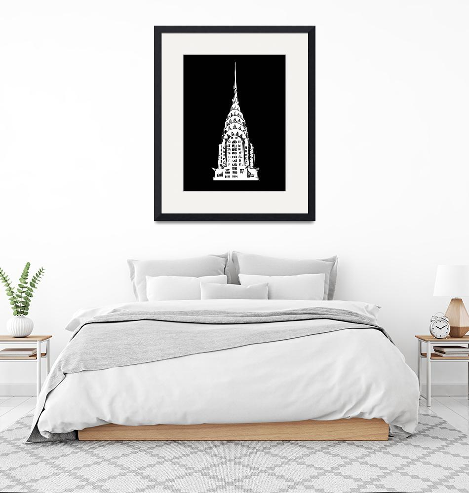 """""""The Chrysler Building""""  (2010) by RichDelux"""