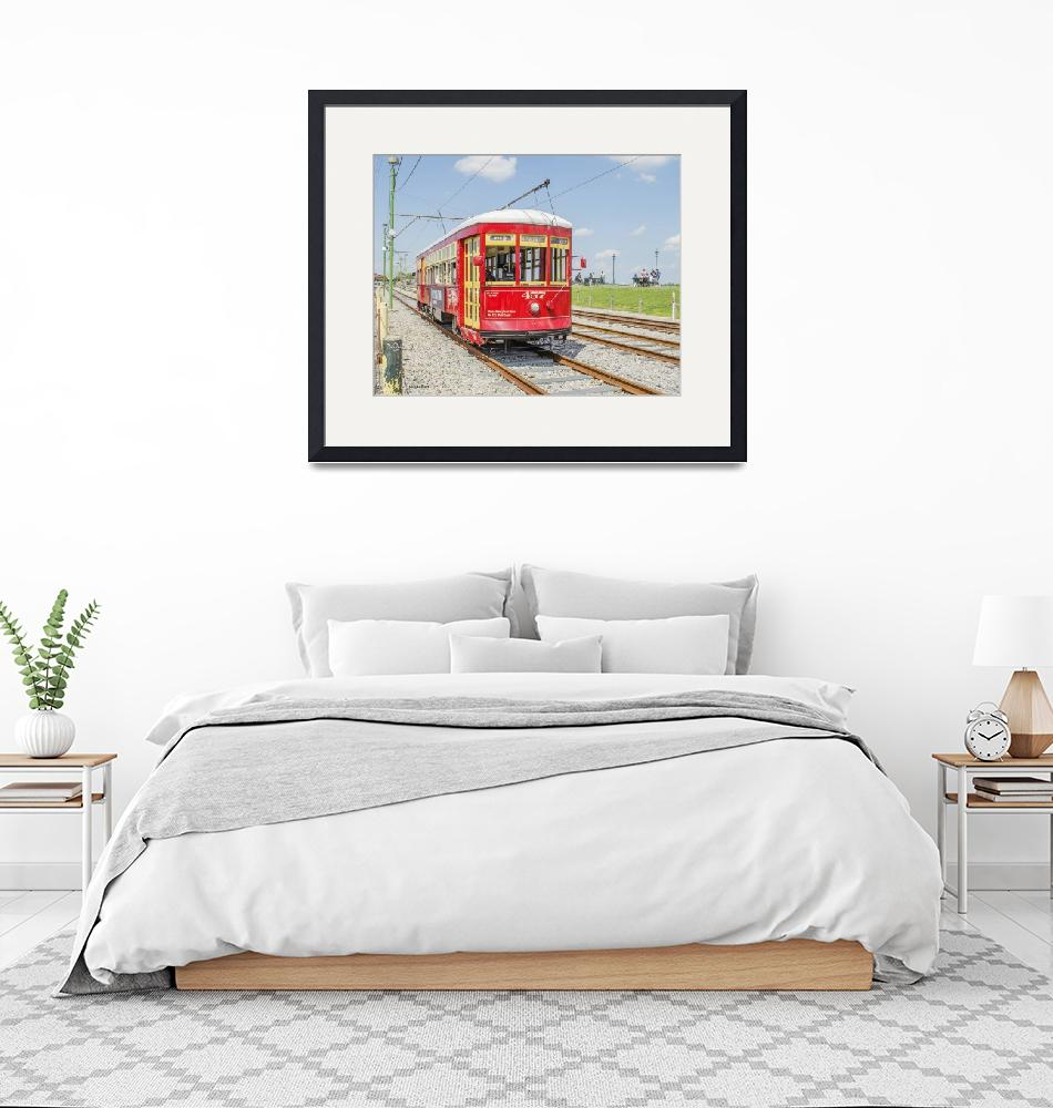 """New Orleans Trolley"" (2016) by awsheffield"