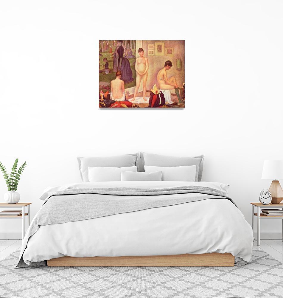 """Georges-Pierre Seurat 20""  by ArtLoversOnline"
