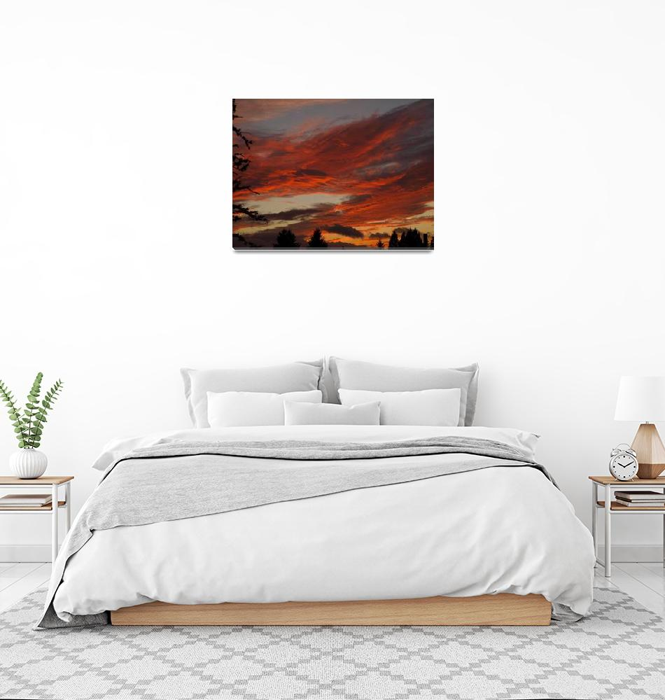 """""""Lobster Claw Sunset""""  (2006) by inkandbrushcreations"""