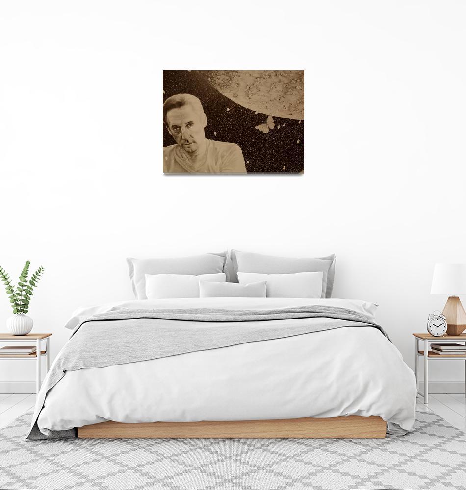 """""""Artist Edward Ruscha""""  (1988) by AprilGuittar"""