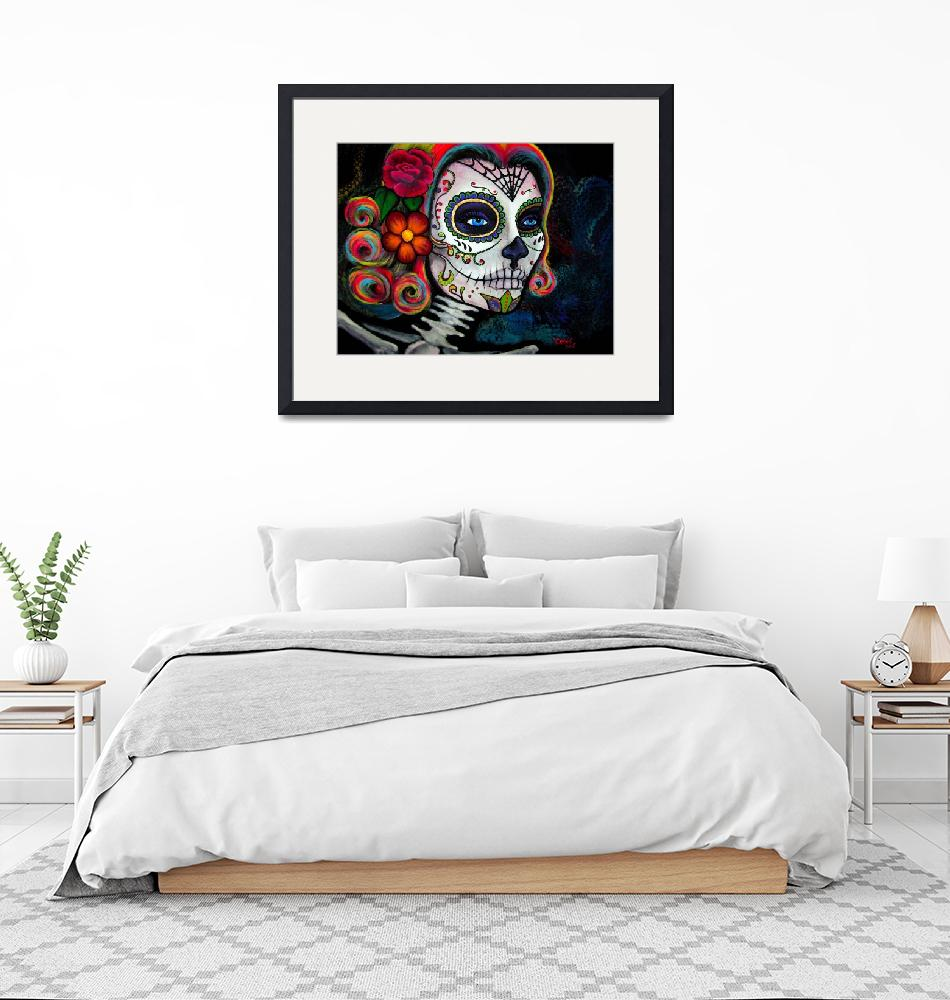 """""""Sugar Skull Candy""""  (2015) by CLEArT"""