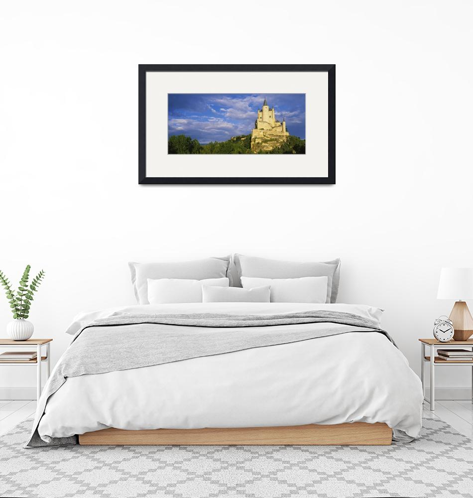 """""""Low angle view of a castle on a hill""""  by Panoramic_Images"""