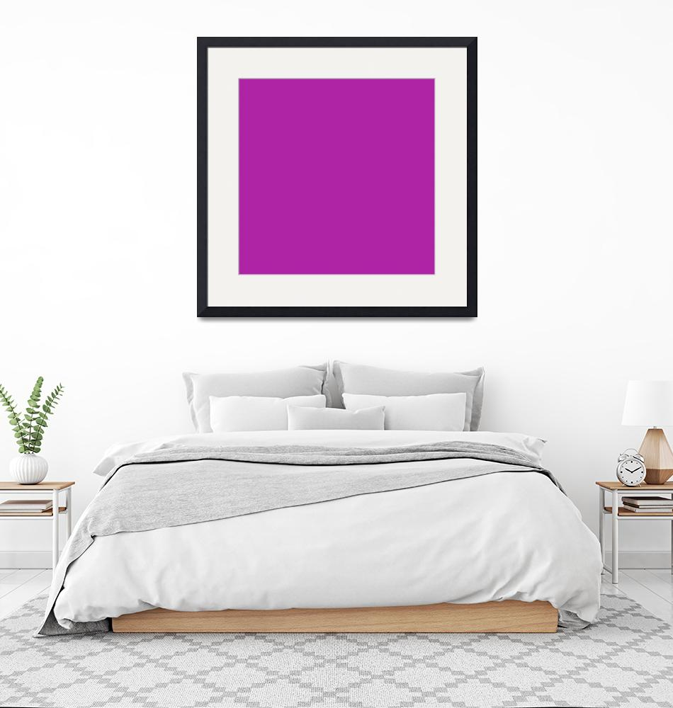 """Square PMS-253 HEX-AF23A5 Purple Violet""  (2010) by Ricardos"