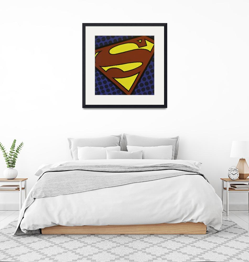 """Superhero Logos - ""Superman""""  (2013) by SaraMelody"