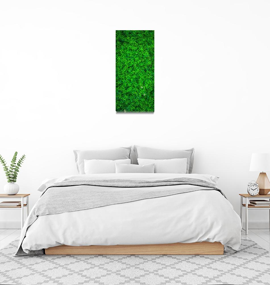 """Green Leafy Plants""  (2020) by ArtHistory"
