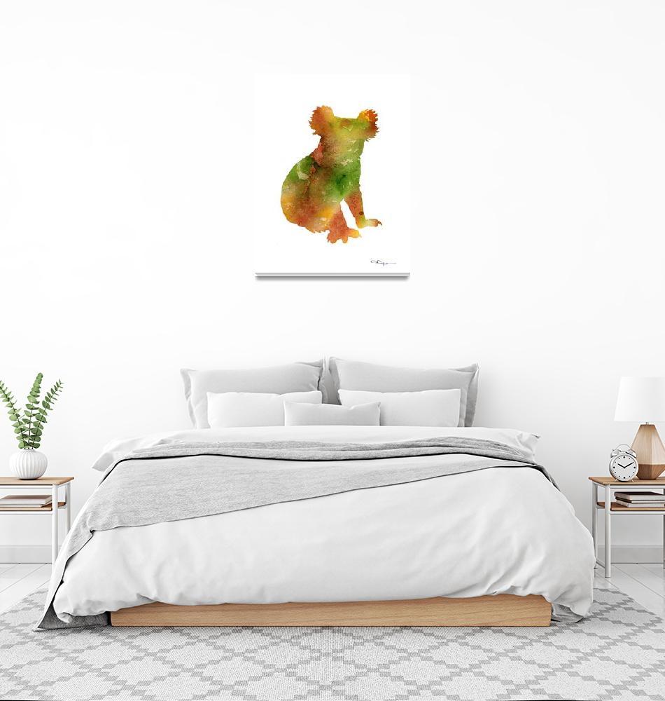 """""""Koala""""  (2015) by k9artgallery"""
