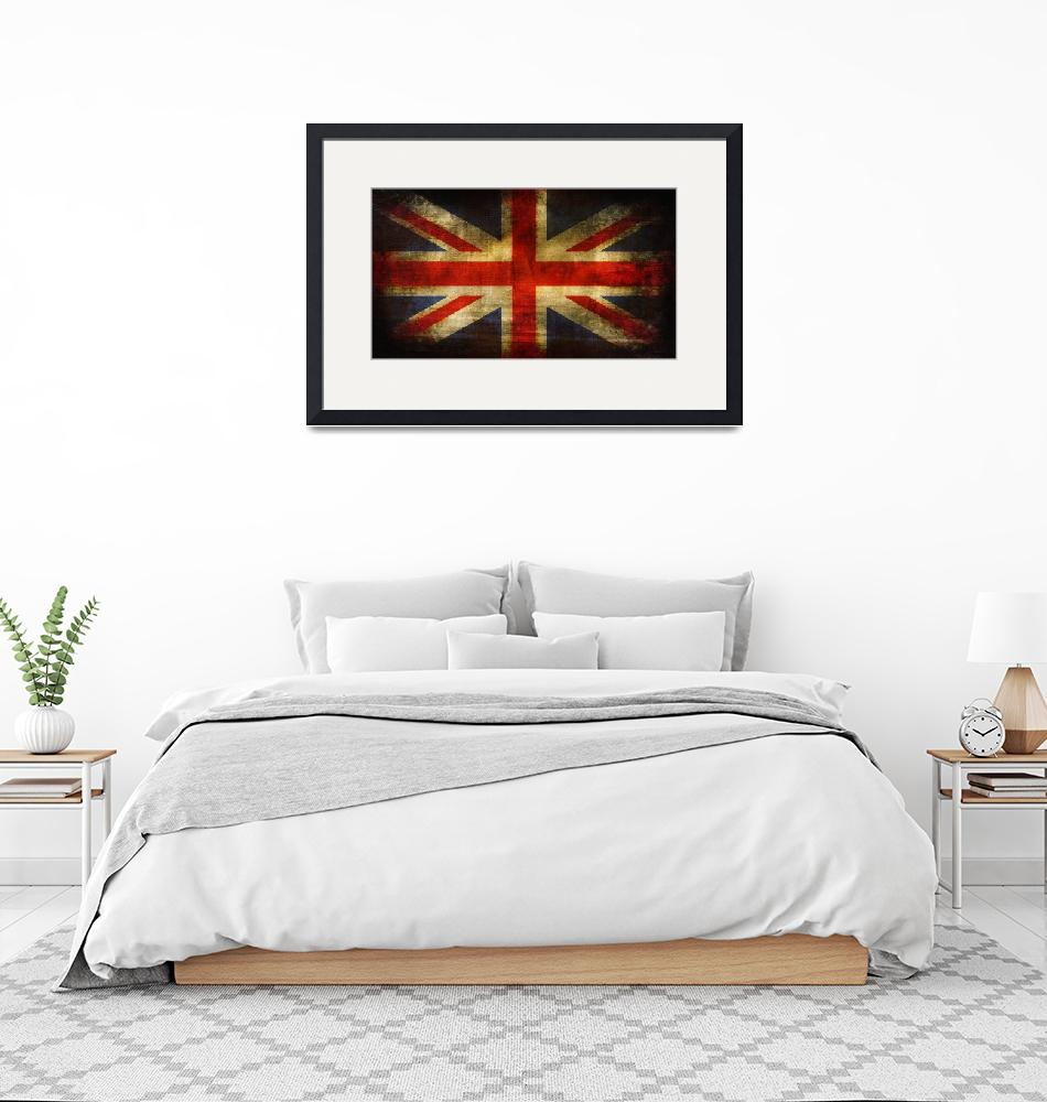 """""""UK Flag""""  by mutant_spider"""