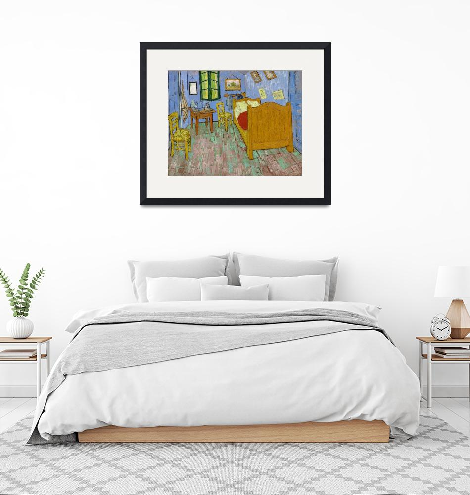 """""""The Bedroom by Van Gogh""""  by FineArtClassics"""
