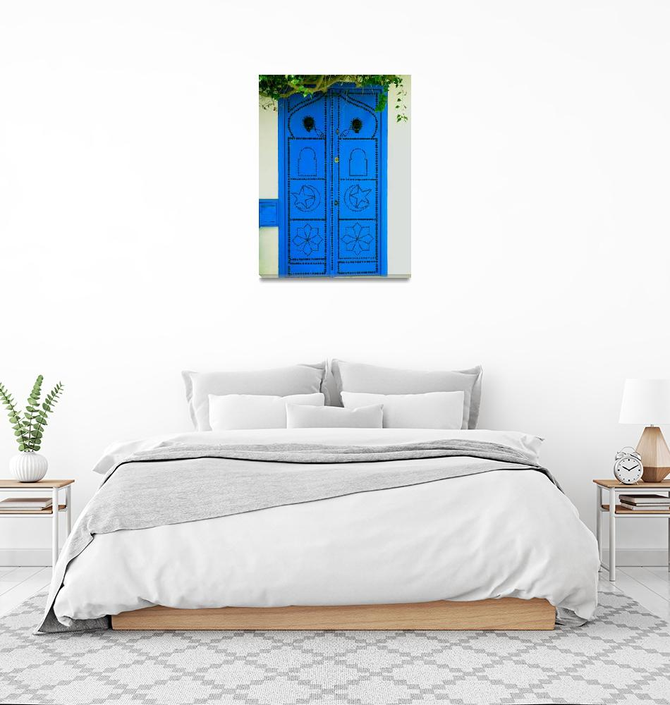 """""""Blue Door""""  (2007) by rayjacque"""