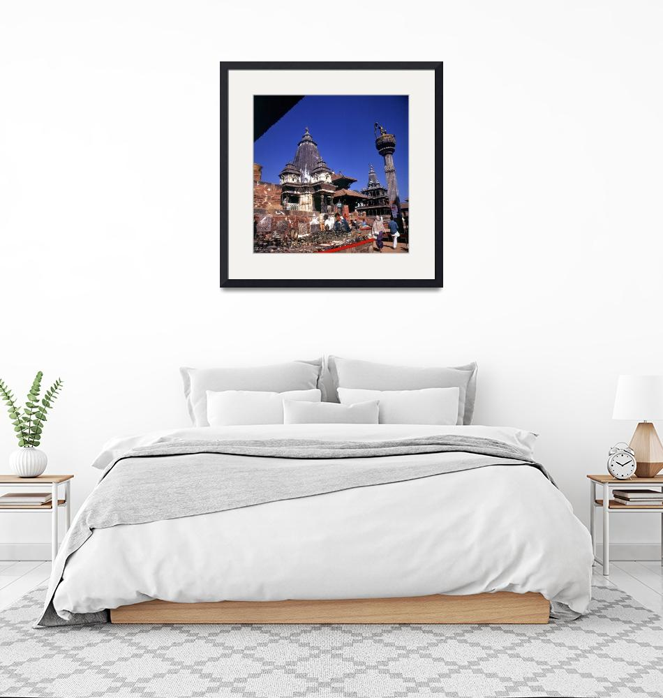 """Durbar Square""  (1996) by JoaoPonces"
