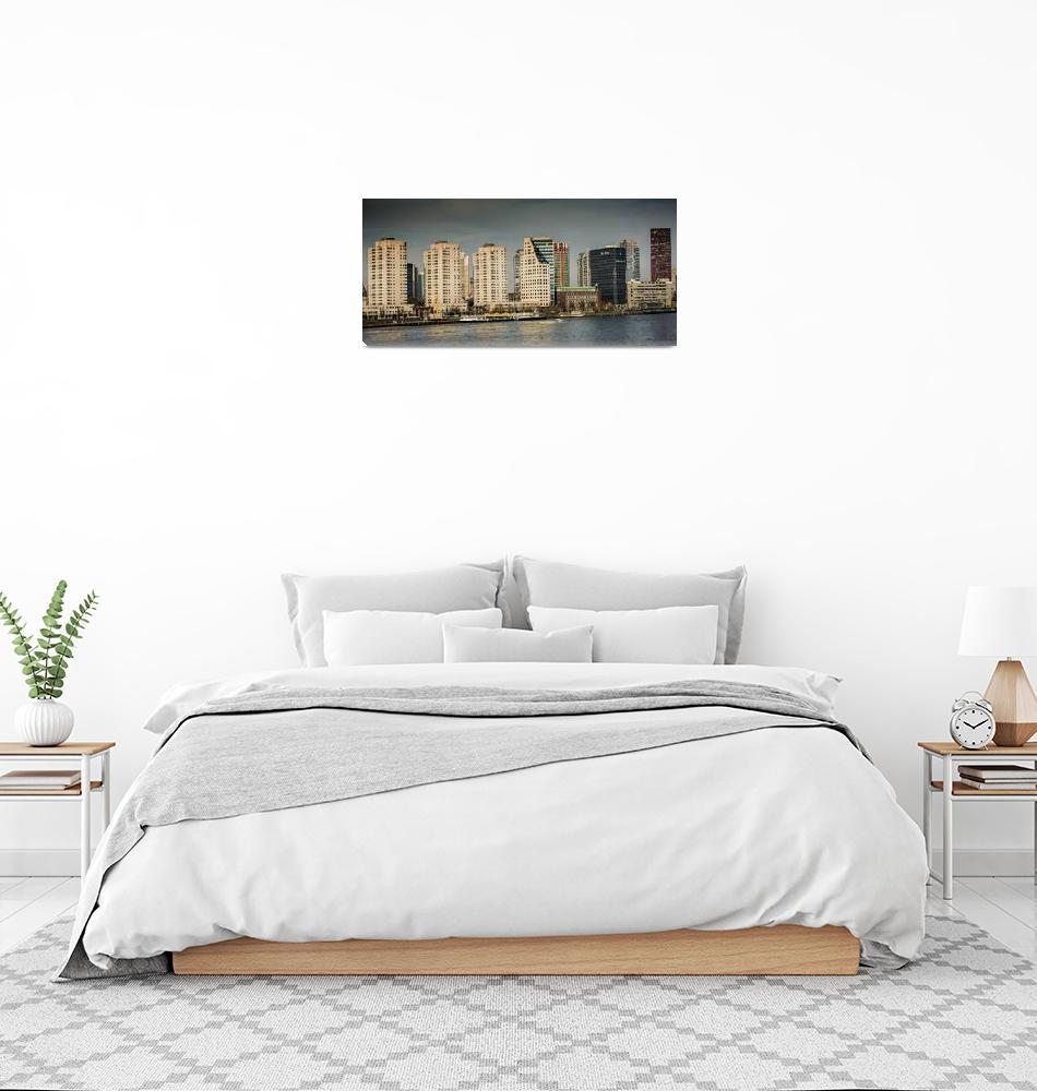 """The City of Rotterdam""  (2019) by robertgrac"