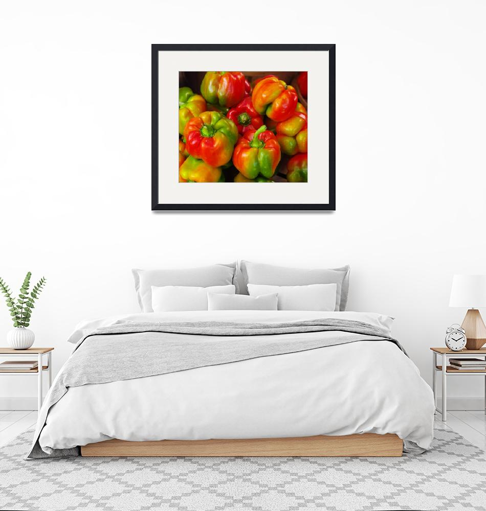"""""""Red-Yellow-Green Peppers""""  (2009) by JohnsSecretIdentity"""
