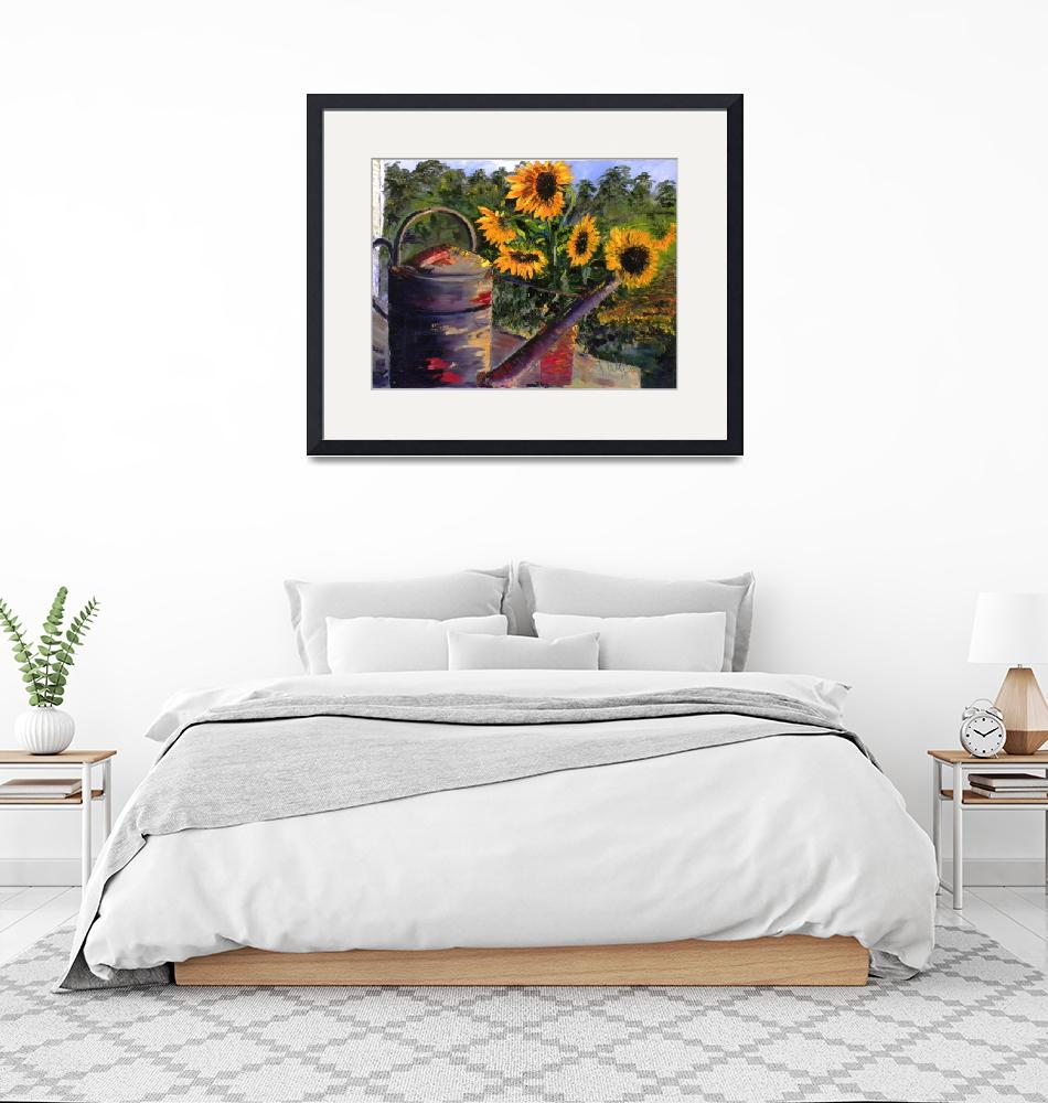 """sunflowers""  (2009) by jimwelsh"