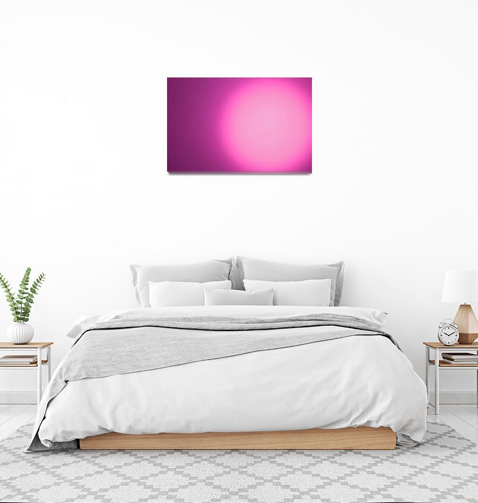 """""""SunMagenta""""  (2009) by AbstractImage"""
