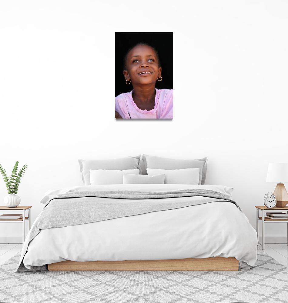 """Mauritanian Girl 5""  (2009) by AndreaMoorePhotography"