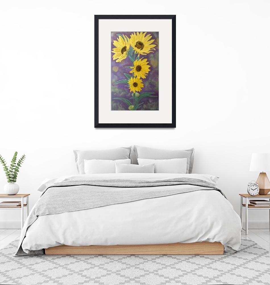 """Sunflowers""  (2008) by jenniferbray"
