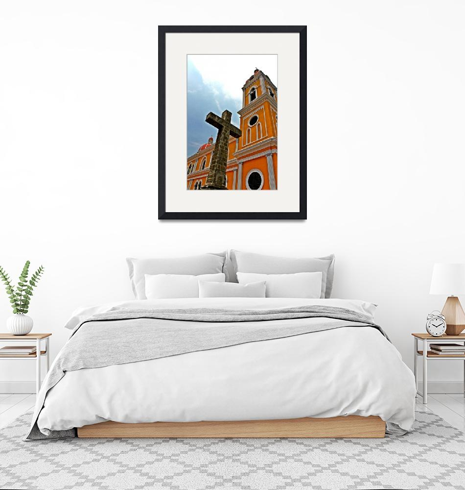 """""""Cathedral in Granada, Nicaragua""""  (2012) by paulschlindweinphotos"""