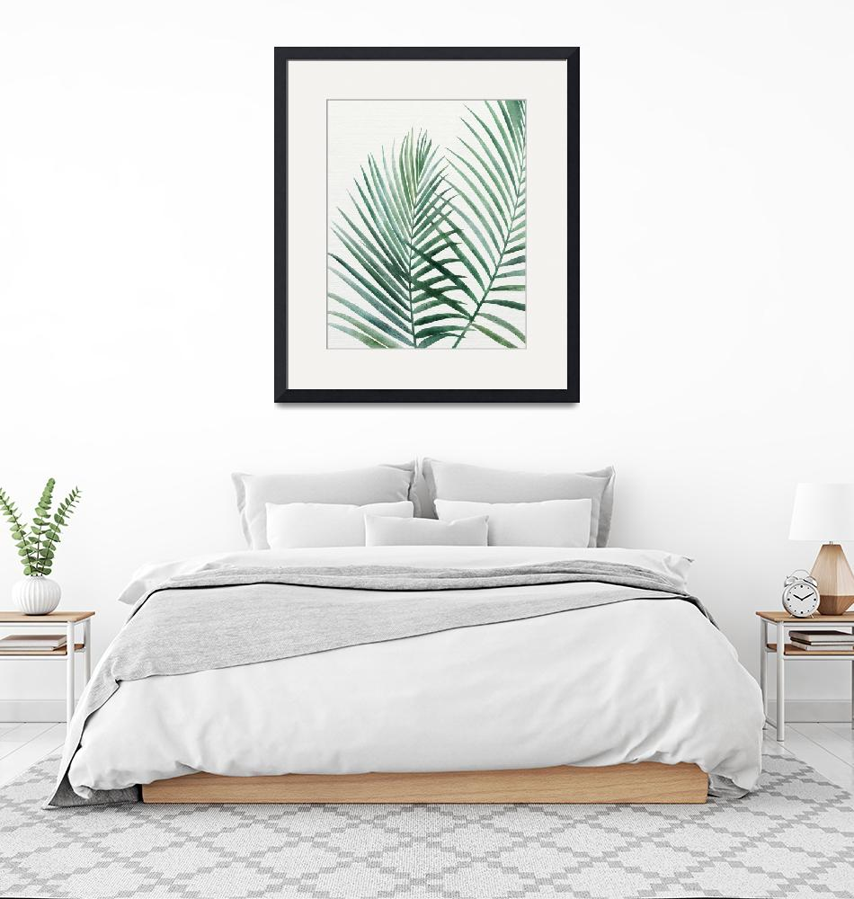 """""""Emerald Palms""""  (2018) by moderntropical"""