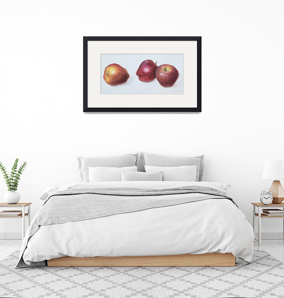 """""""Red Apples, 1996""""  by fineartmasters"""