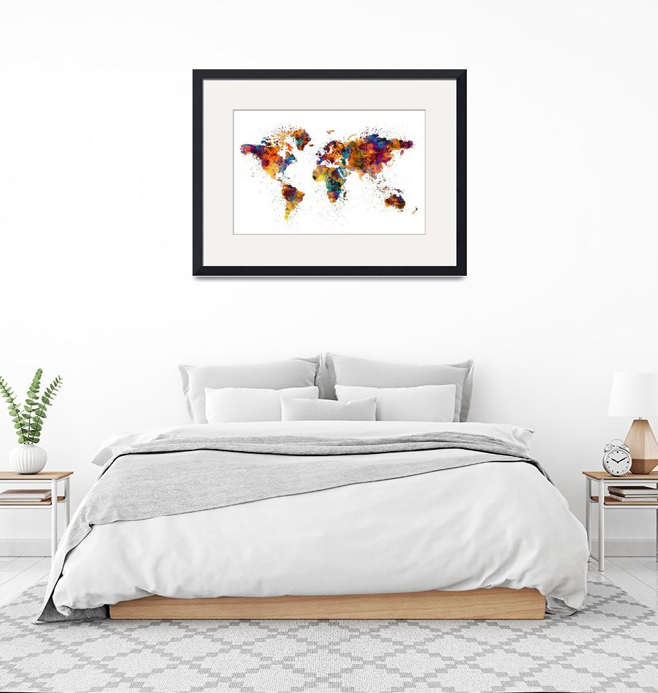 """""""World Map""""  (2016) by MarianVoicu"""