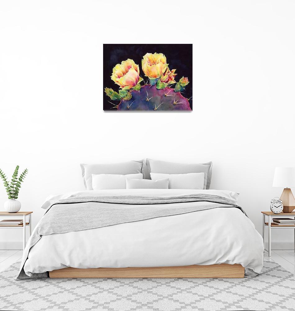"""""""Desert Bloom 2""""  (2015) by HaileyWatermedia"""