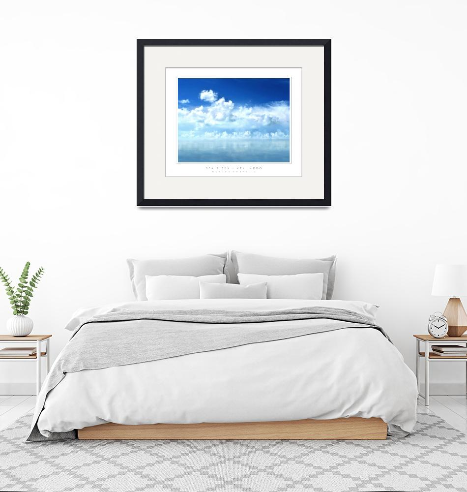 """Sea & Sky - Key Largo, FL""  by CCordelia"