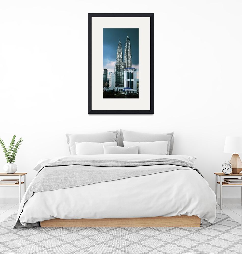 """Petronas Towers copy 10x6""  by snaphappy"