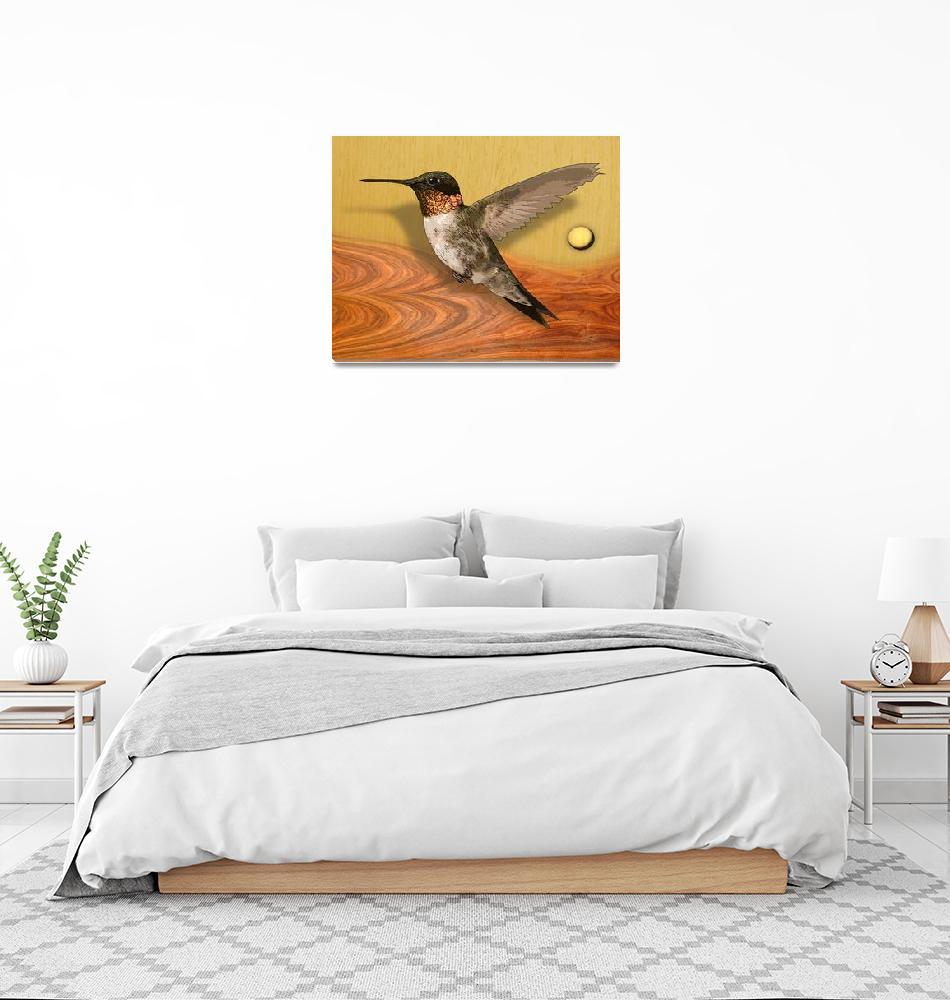 """hummingbird""  (2008) by Arteology"