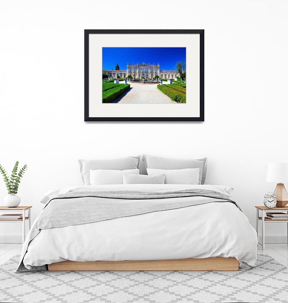 """""""Queluz Royal Palace Gardens""""  (2008) by JoaoPonces"""