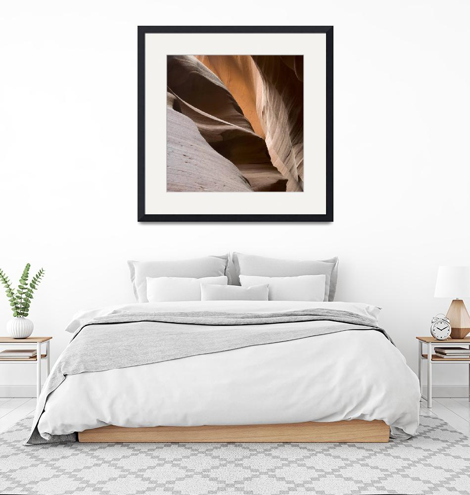 """""""Antelope Canyon Sandstone Abstract""""  (2009) by miir"""