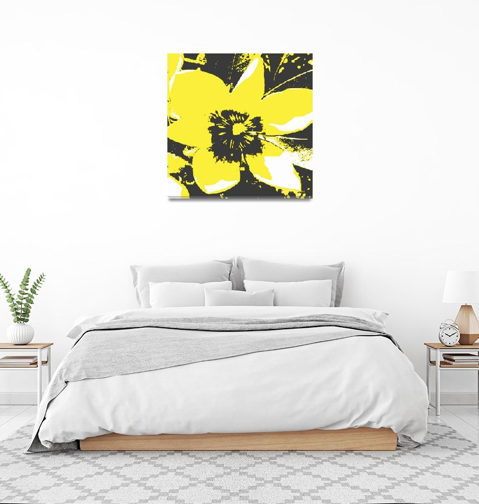"""""""Blooming Yellow""""  (2009) by HerbDickinson"""