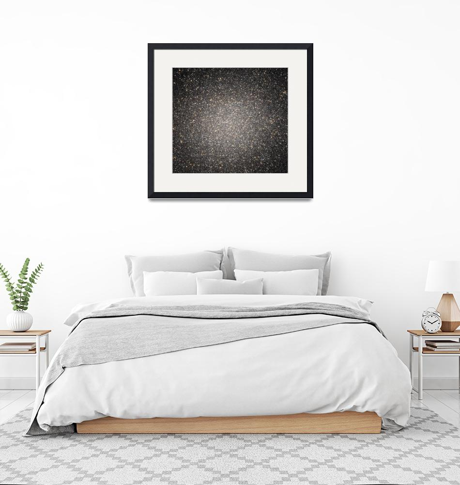 """The core of the globular cluster Omega Centauri""  by stocktrekimages"