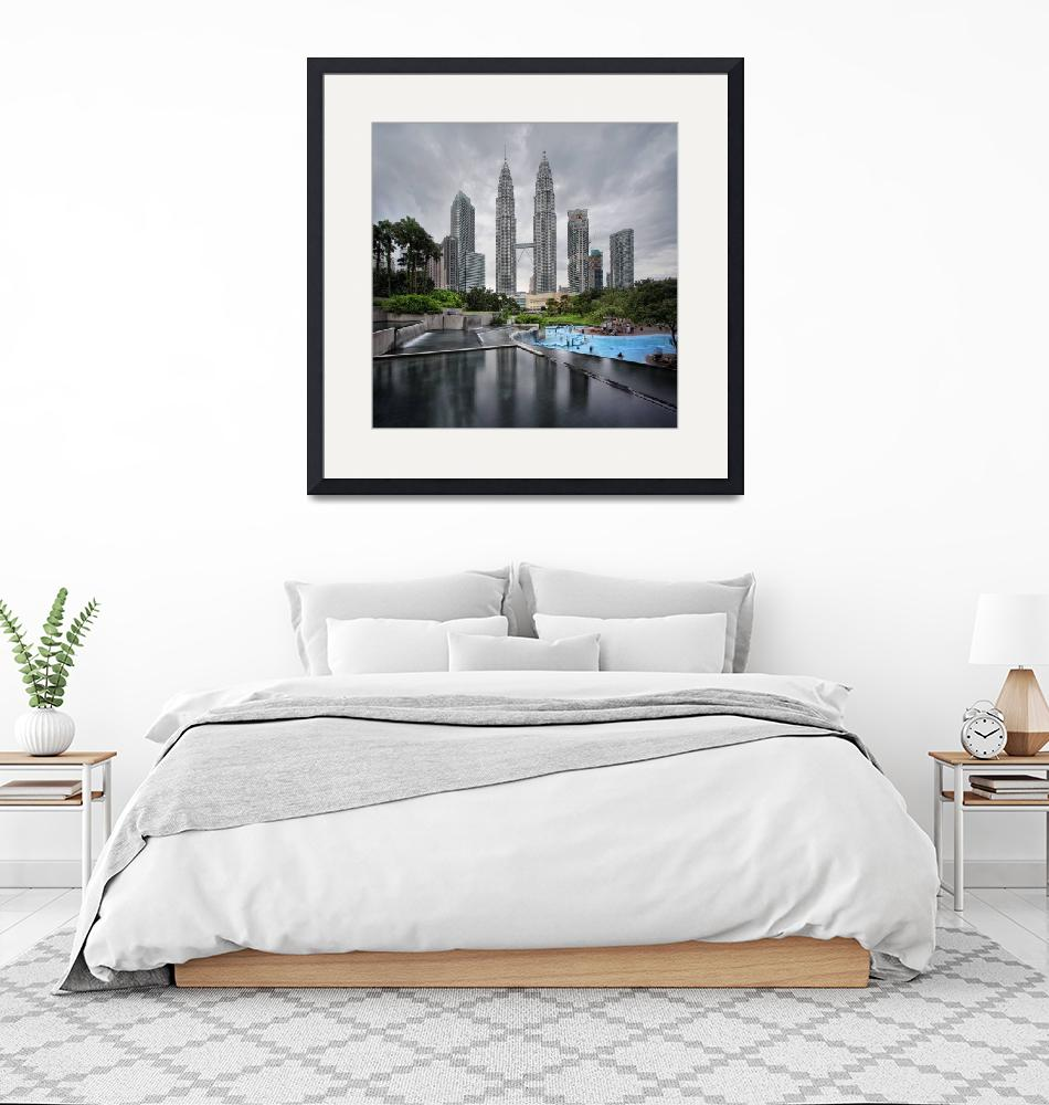 """The Petronas Twin Towers""  by vedd"