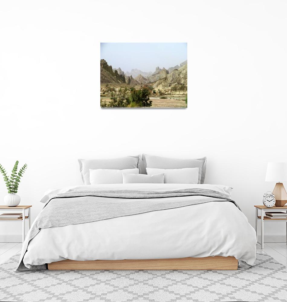 """Hingol Mountains lMG_95012""  (2009) by davies"