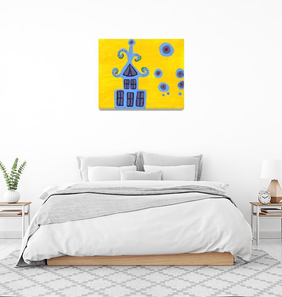 """blue house""  by snowwhitegirl"