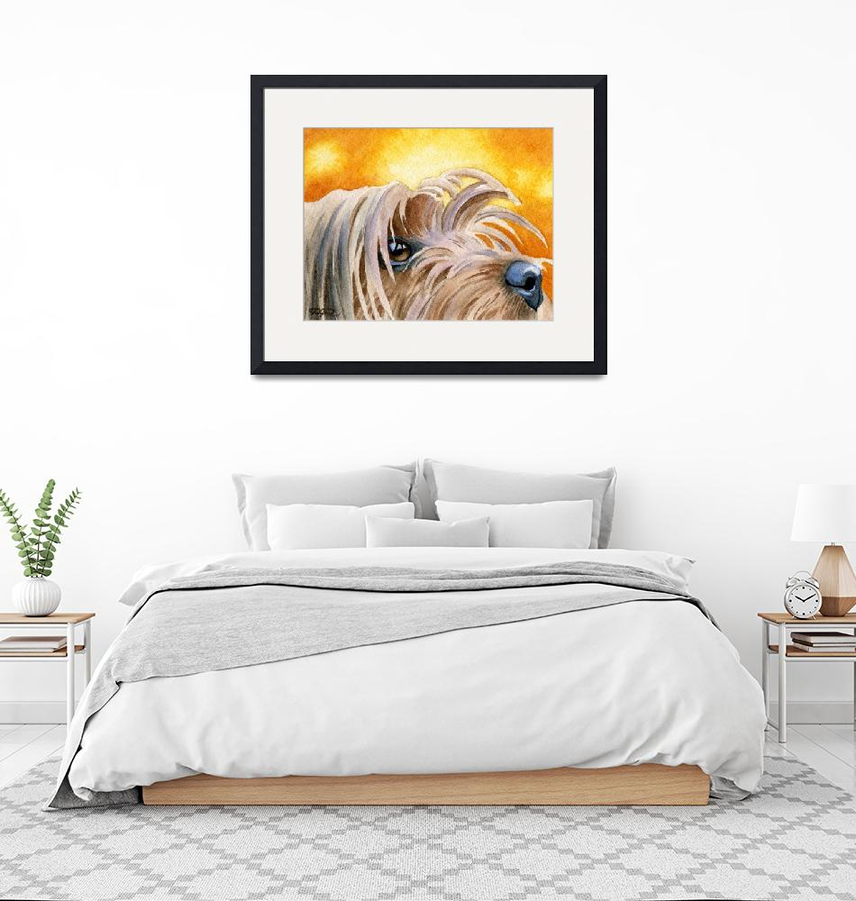 """Yorkshire Terrier 2""  (2015) by k9artgallery"
