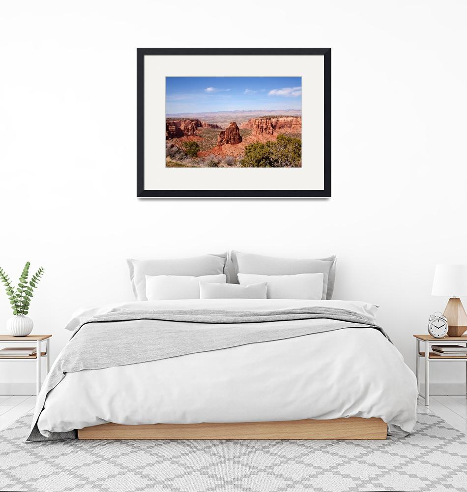 """""""Colorado National Monument""""  (2007) by melissaanderson"""