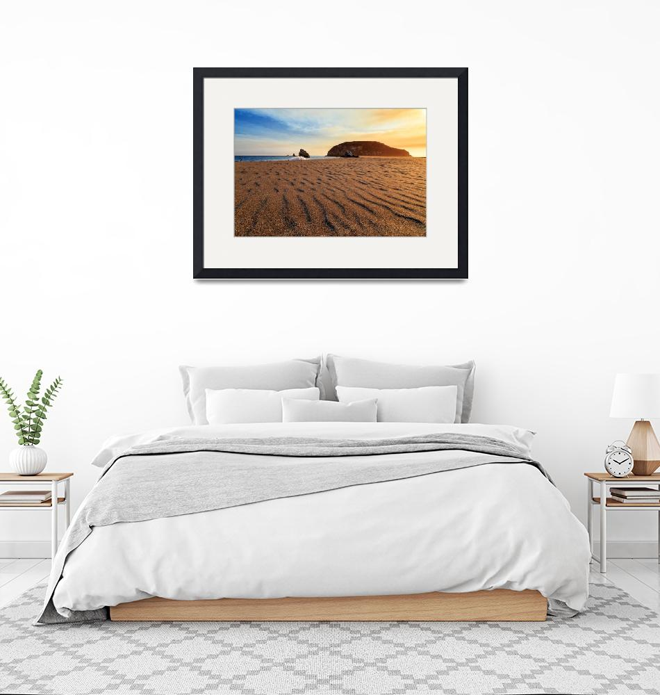 """""""Sunset On The Sands Of Brookings""""  (2015) by jameseddy"""