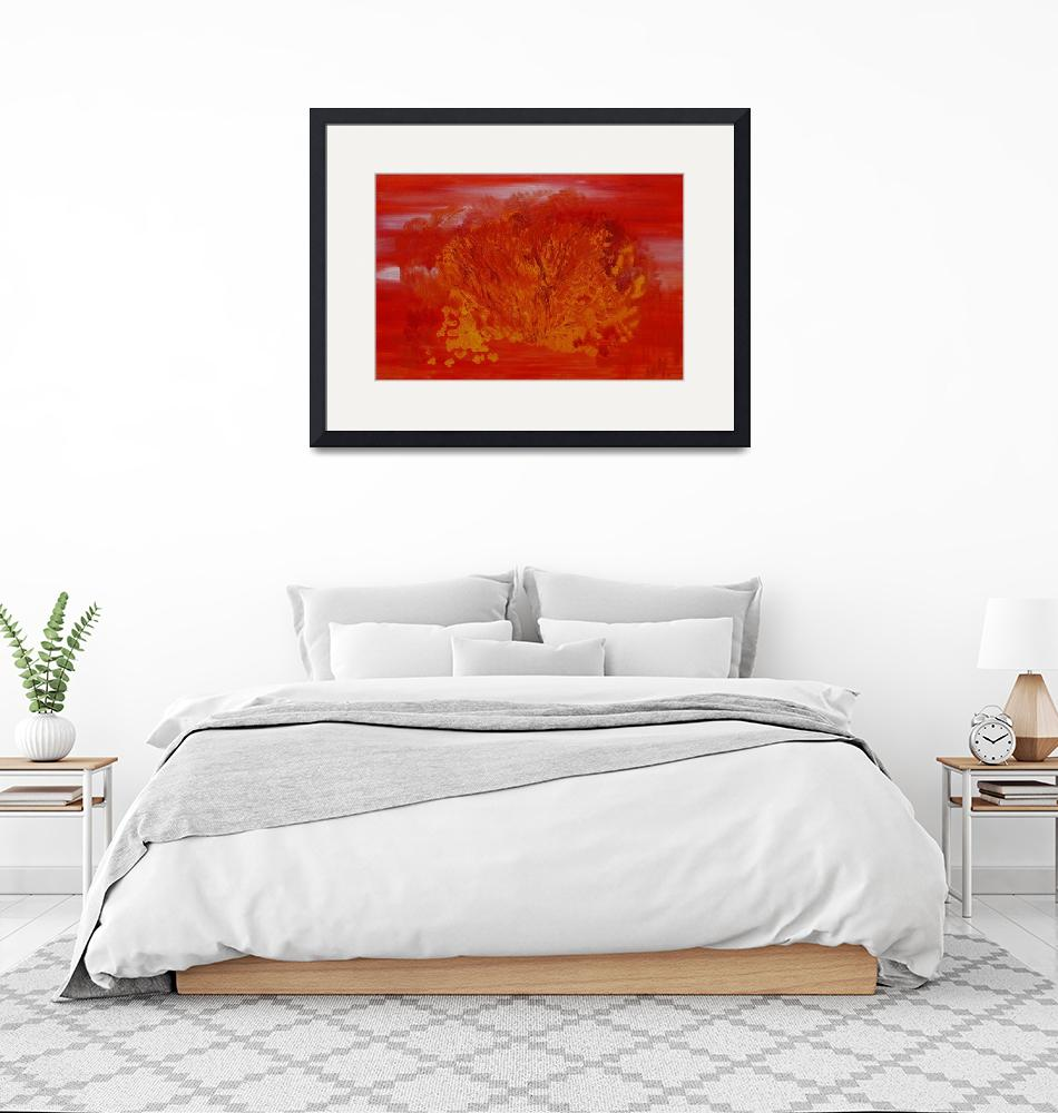 """The fiery brush 2""  by Milena"