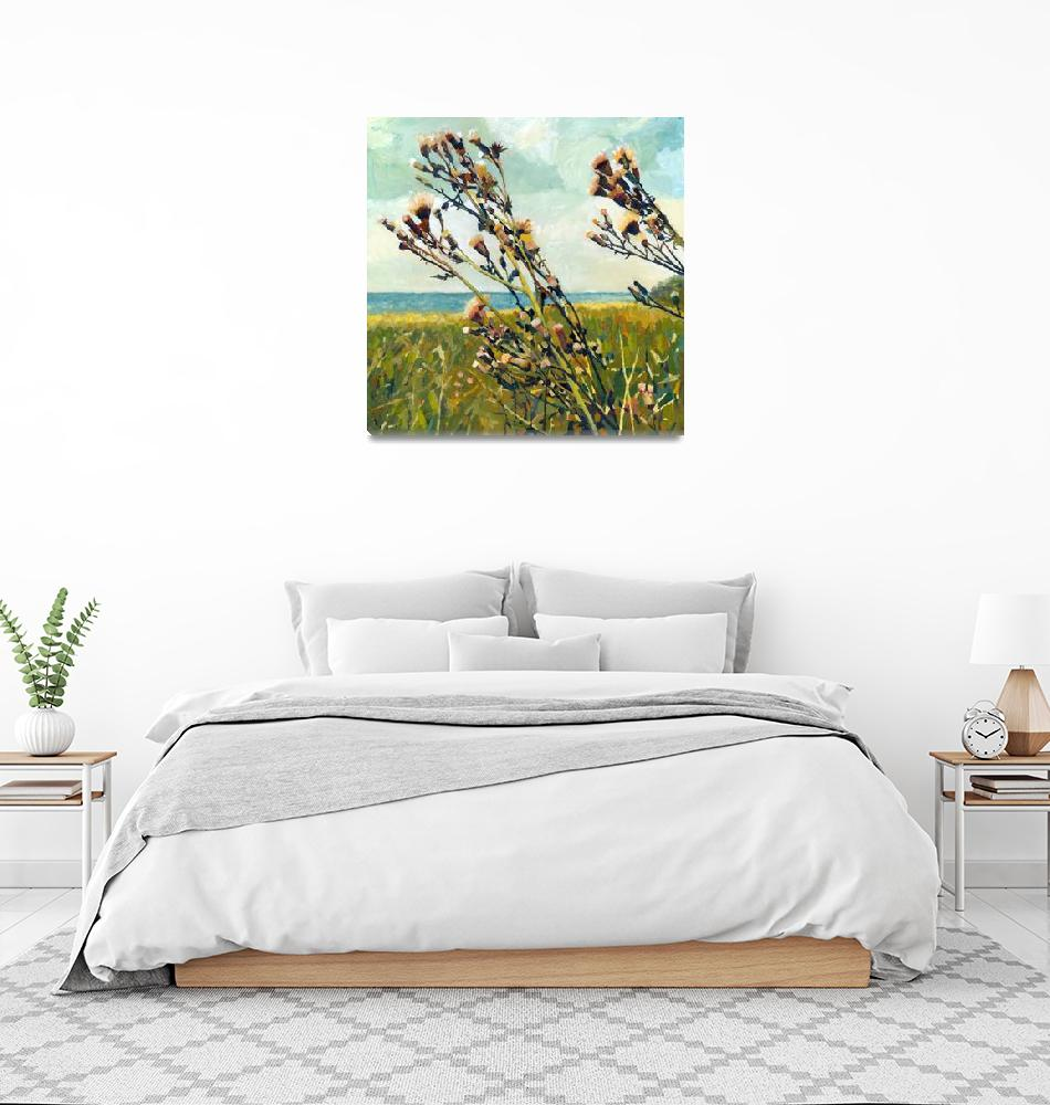 """""""Thistles on the Beach""""  (2013) by Michelle1991"""