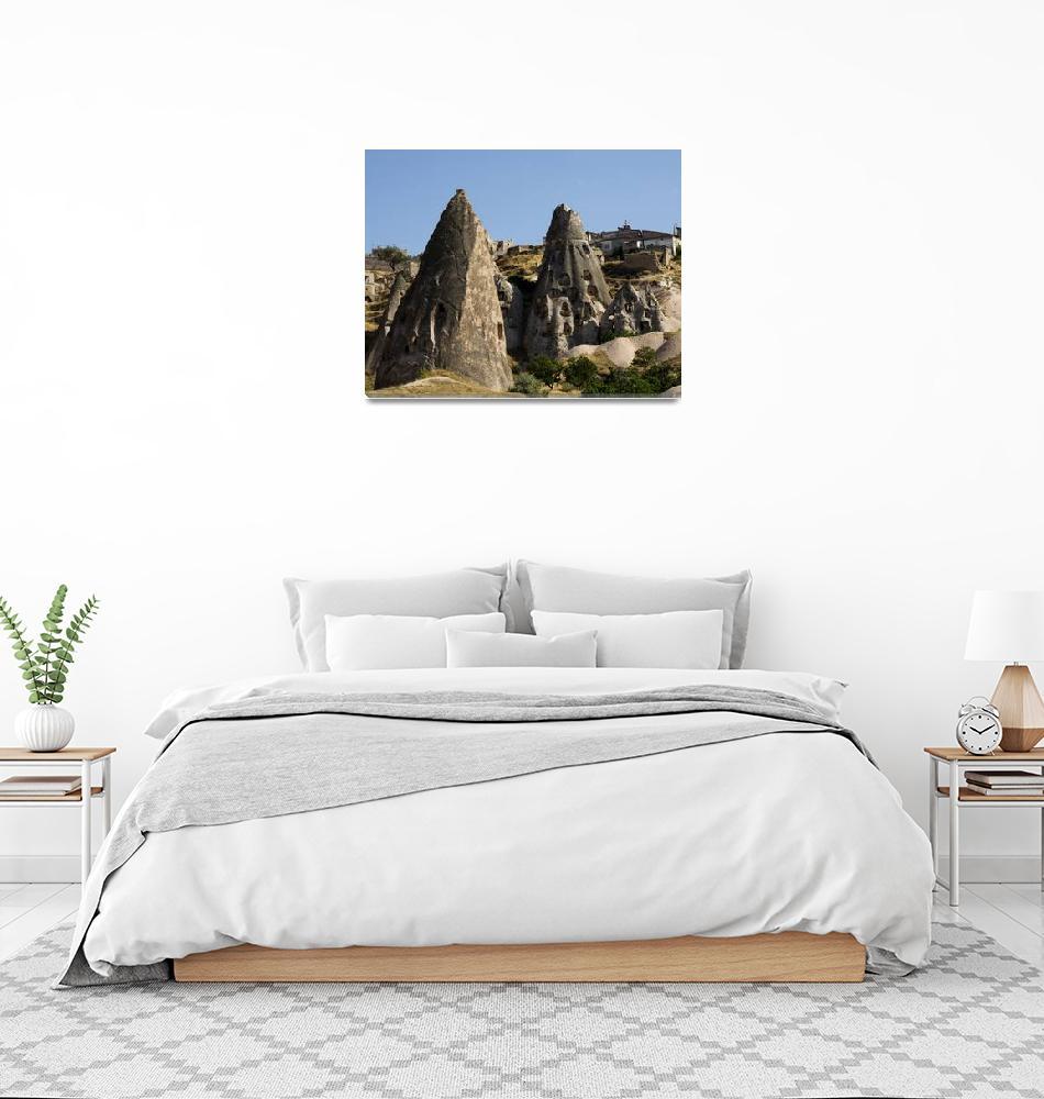 """Uchisar Village, Cappadocia - Turkey""  (2011) by jaredjared"