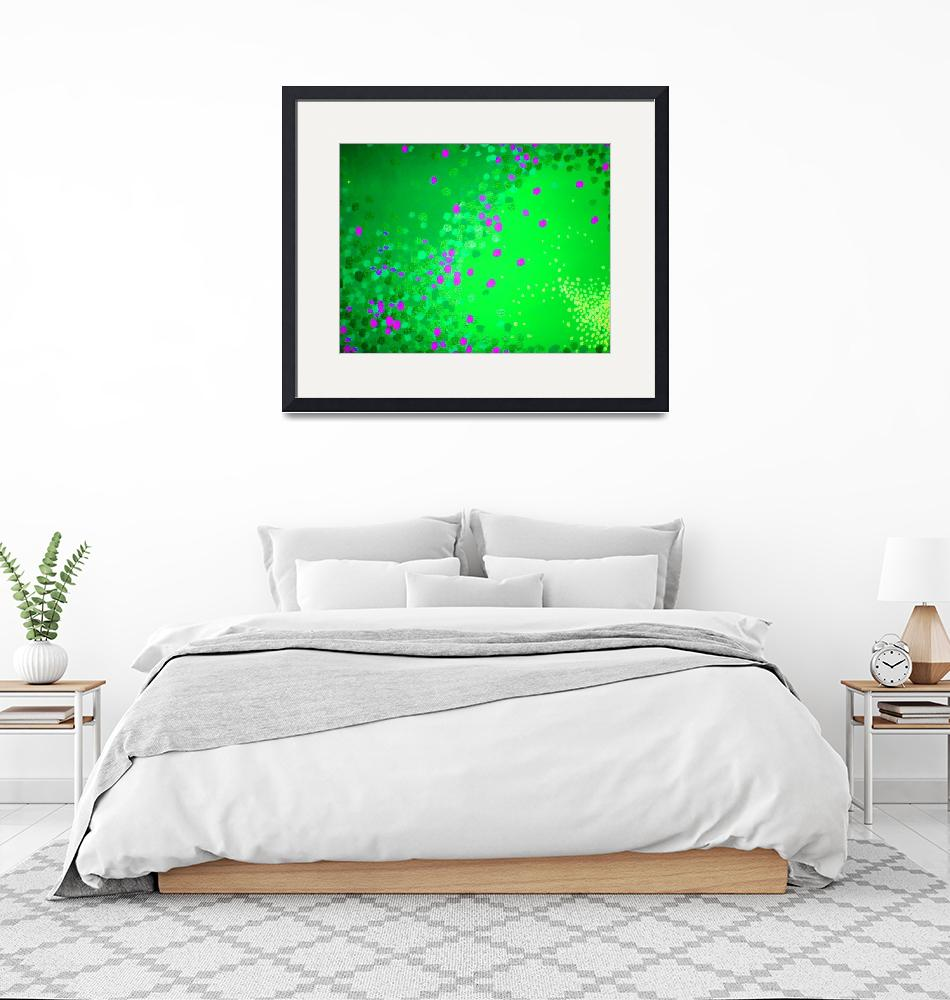 """""""green dots""""  (2009) by TCRAWFORD"""
