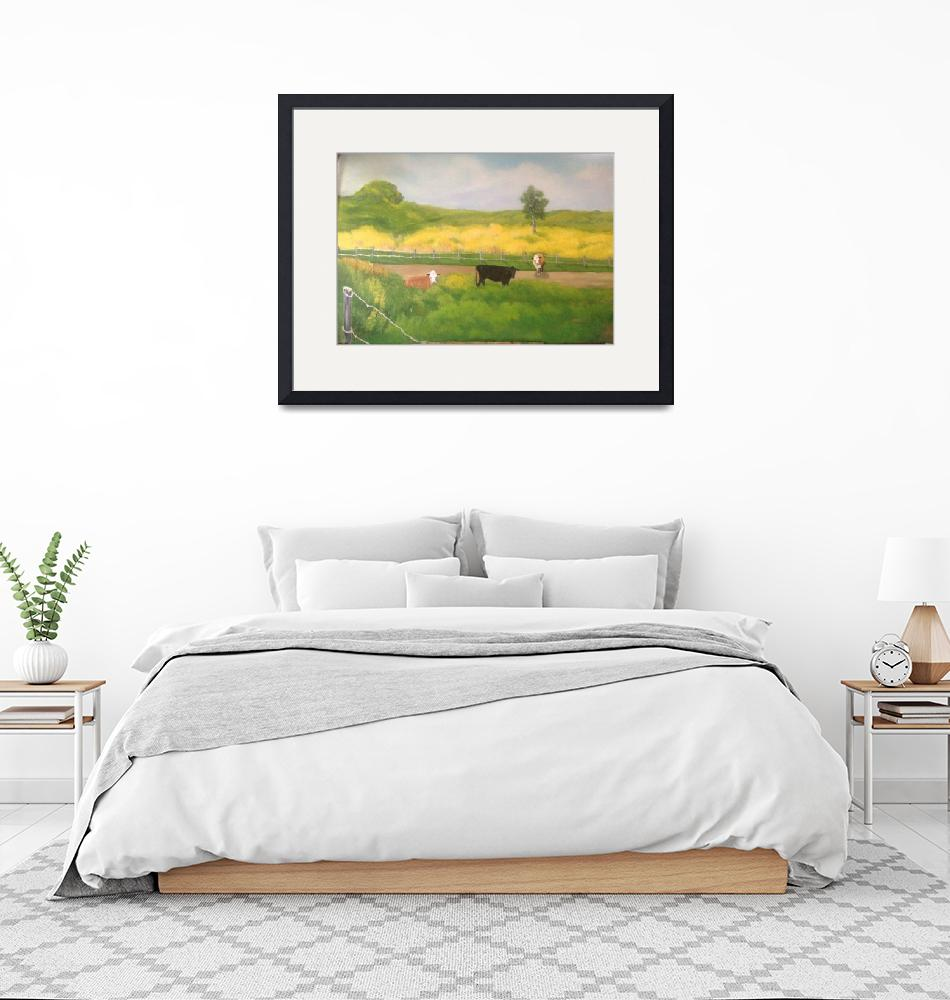 """""""Maui Cow Pasture""""  (2018) by ArtisticExpressionbyLinda"""