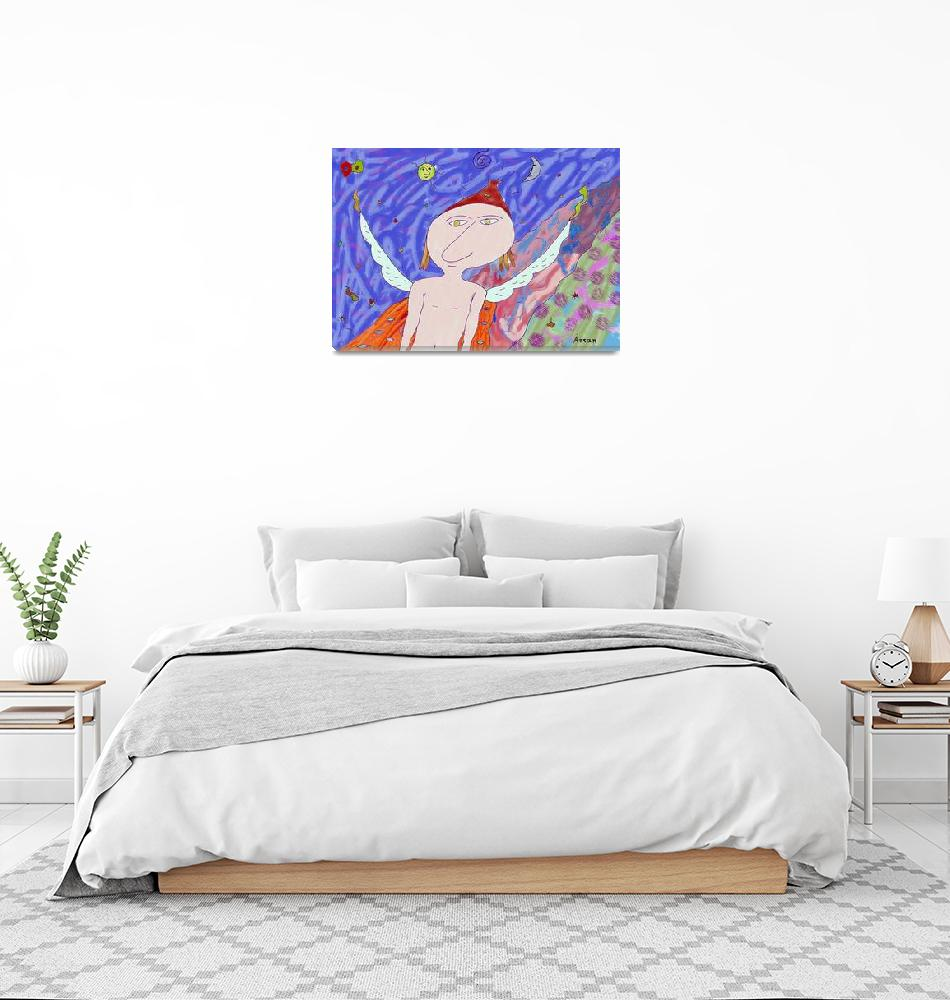 """""""""""Fly angel""""- Children Colorful Fantasy Stories""""  by Arran"""