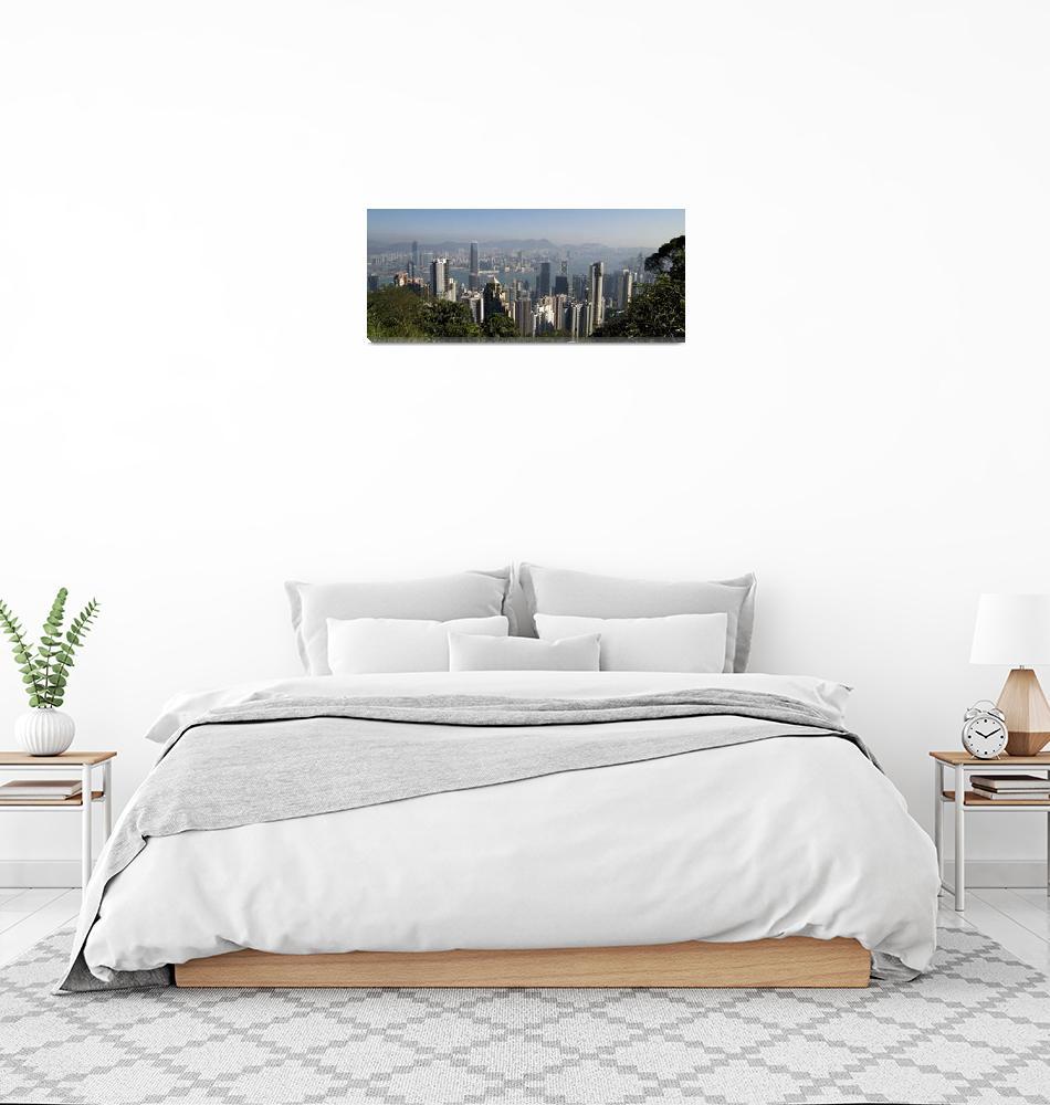 """Hong Kong Cityscape, China""  by DesignPics"