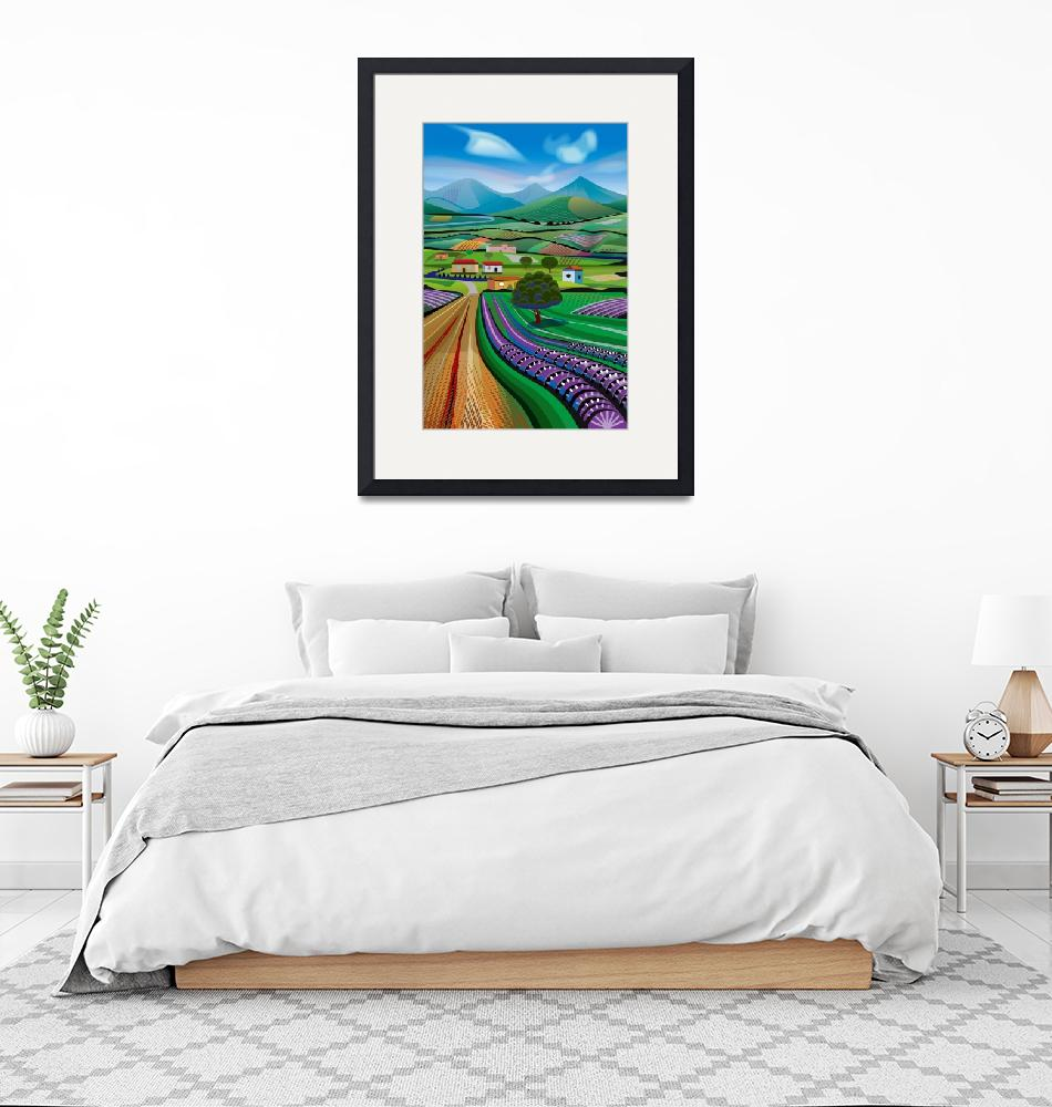 """""""Morning in Avocado Hills"""" (2018) by charker"""