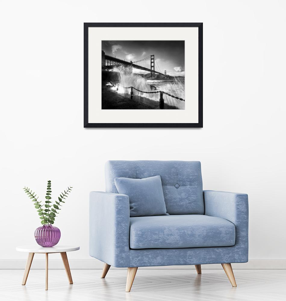 """""""sf_ggb_point_wave_ht.mod-P-bw"""" by worldwidearchive"""